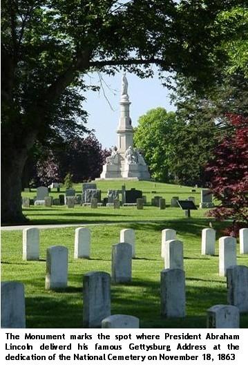 Gettysburg Address Monument