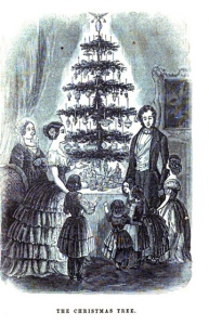godey's The Christmas Tree